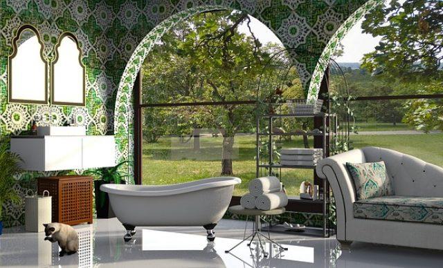 grønt bad