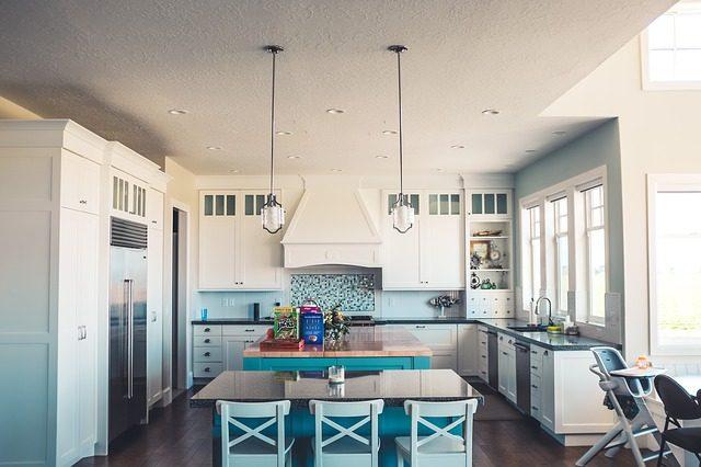 blått kjøkken