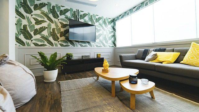 grønn stue